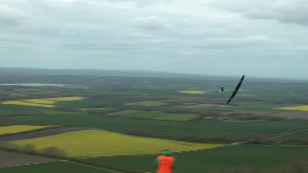 F3F Speed-Wettbewerb für Modellhangflug