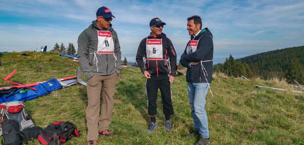 F3F Prominenz aus Deutschland Siggi Schedel (rechts im Bild)